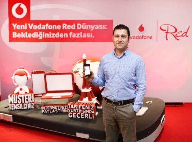 Ailelere kolaylıklar yeni Vodafone Red dünyasında