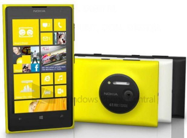Nokia 1020'den görüntüler de sızdı