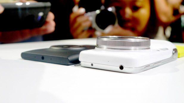 Lumia 1020 diğer ceplerle yan yana