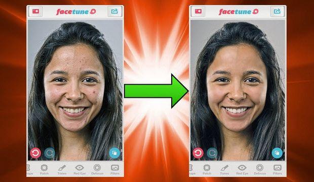 facetune, iphone, uygulama, filtre, düzelt, onar, yüz, portre, ücretli