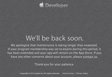 Apple, Developer Center'ı kapattı!