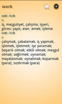 İngilizce-Türkçe Sözlük Free