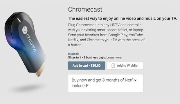 Google'dan yepyeni bir cihaz: Chromecast!