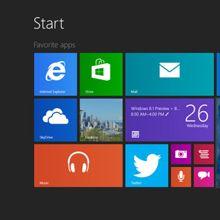 Windows 8.1 sürüm 9471, torrent'te ortaya çıktı!