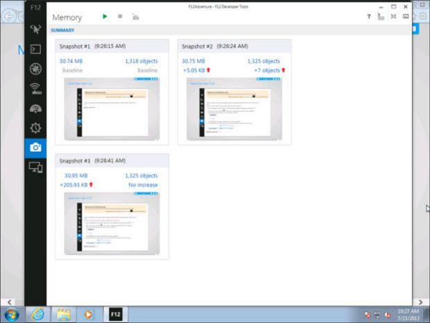 Fazlası; hız testi: Windows 7'deki IE11 vs. IE10