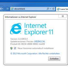 Windows 8 kullanıcılarına IE 11 yok mu?