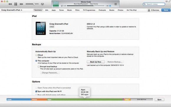 Cihazınızın kapasitesini iTunes'tan kontrol edin