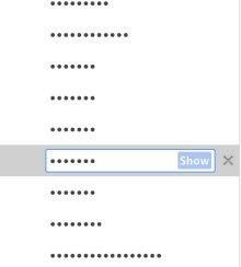 Chrome parolalarınız herkes tarafından görünebilir