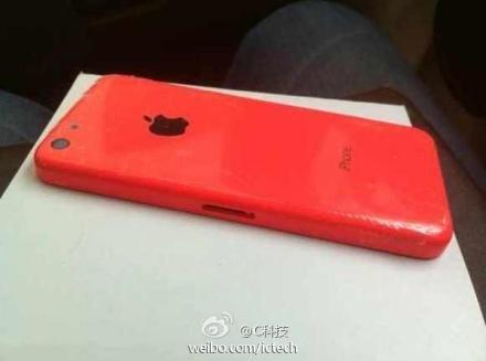 Kırmızı iPhone 5C ve üç net fotoğraf daha!