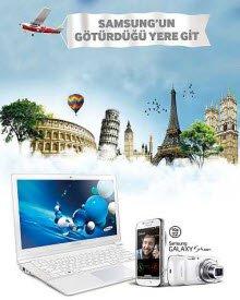 Samsung'u tercih edenlere uçak bileti hediye!