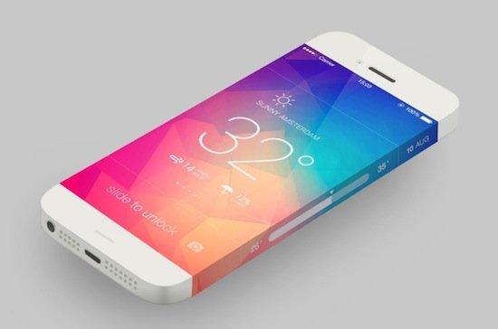 Sarmal ekranlı iPhone konseptleri - II