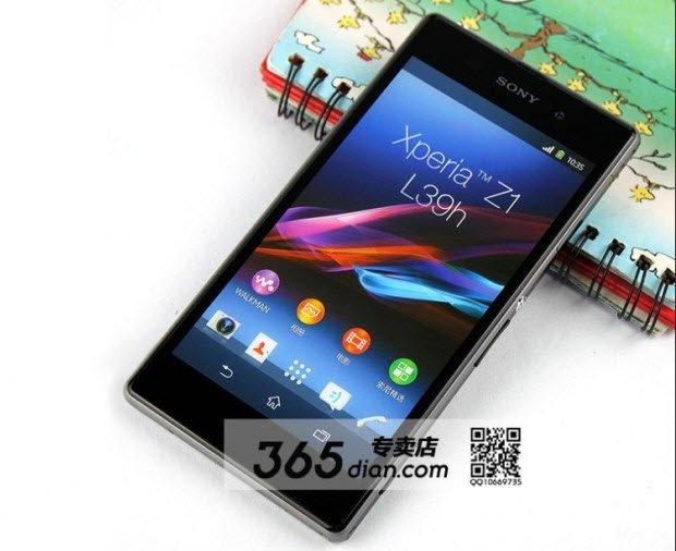 Sony Xperia Z1'den kareler