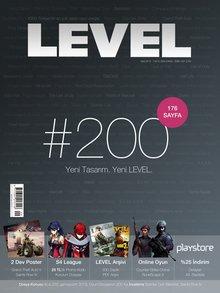 LEVEL'ın 200. sayısı piyasada!