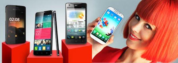 Yeni cep telefonları