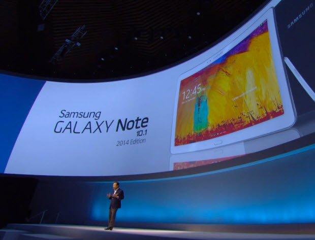 Samsung'dan bir de 10 inç'lik tablet sürprizi!