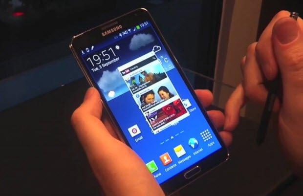 Galaxy Note 3'ün diğer yenilikleri ve fazlası