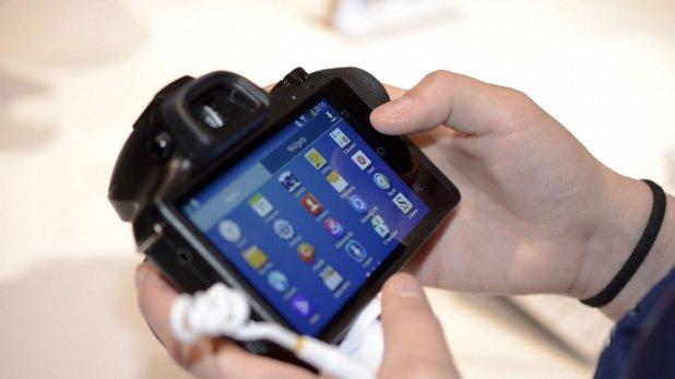 Android'li bir kamera
