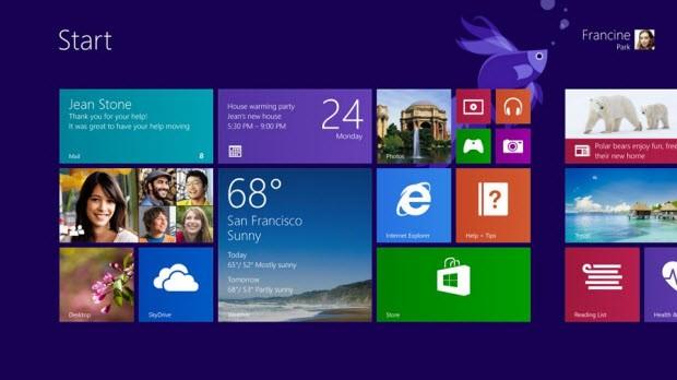 Windows 8'den Windows 8.1'e nasıl yükseltilir?