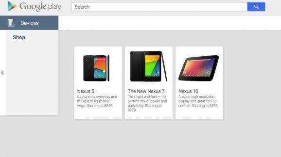 Google Play'de de göründü...