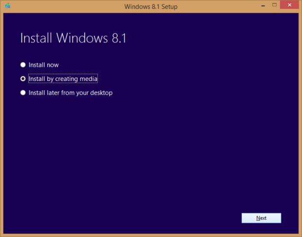 Windows 8.1 USB kurulum diski hazırlıyoruz!