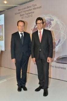 Yatırım kararını destekleyen başarılı ekip Türkiye