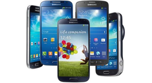 Galaxy S4, Active, Mini, Zoom ve fazlası!