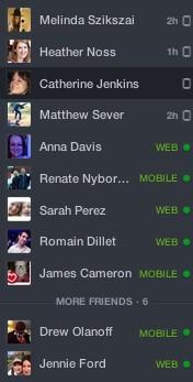 Facebook'tan yeni sohbet işlevi!