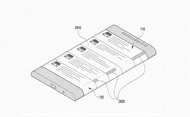 Samsung'un 3 yüzlü cep patenti ortaya çıktı!