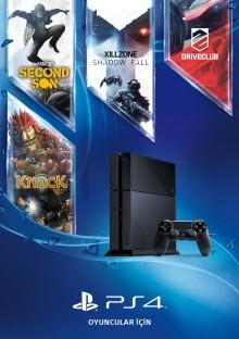 PS4 birbirinden özel dört oyun ile geliyor!