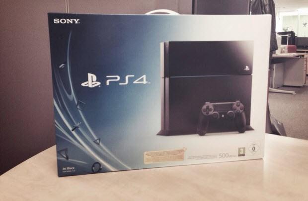 PlayStation 4 testte!