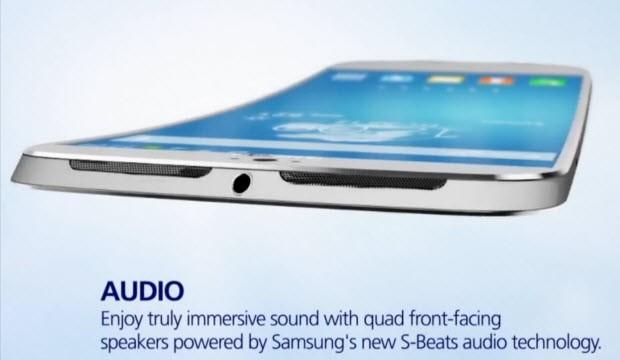 Galaxy S5 bu çalışmadaki gibi olabilir!
