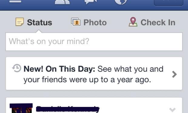"""Facebook, """"nostalji işlevini"""" test ediyor"""
