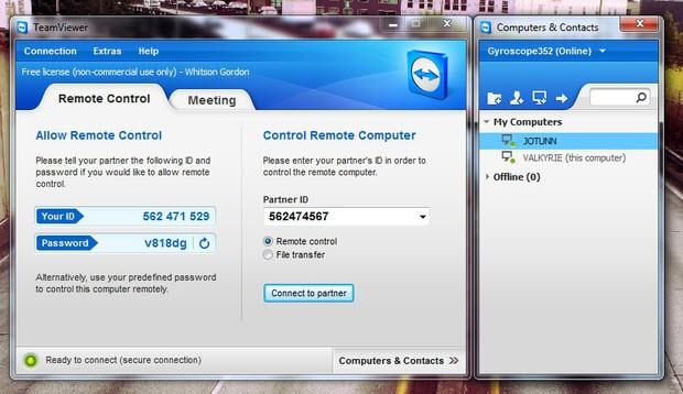 TeamViewer, Dropbox ve diğerleri