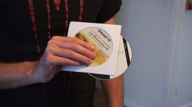 Sürücü disklerini kullanmayın...