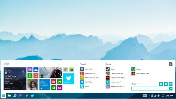 Keşke Windows 8.2 böyle olsa!