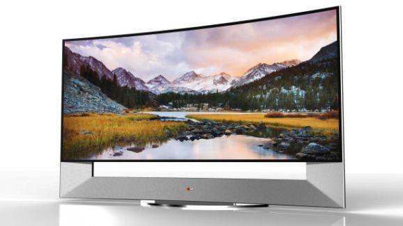 Ve LG'nin 105 inç Ultra HD televizyonu...