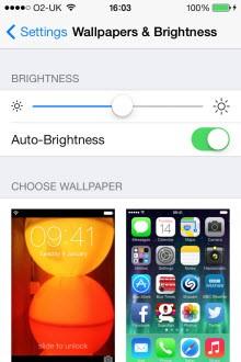 Ekran parlaklığı ve GPS