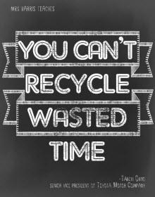 Bolca zamanınız çöpe gidebilir