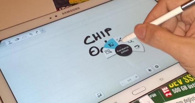 Samsung'a ve S Pen'e özel işlevler