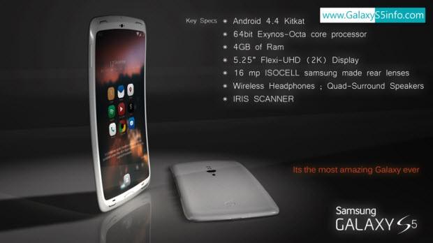 Harika bir Galaxy S5 konsepti - IV