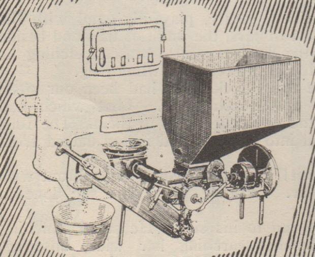 Otomatik fırın kömür makinesi