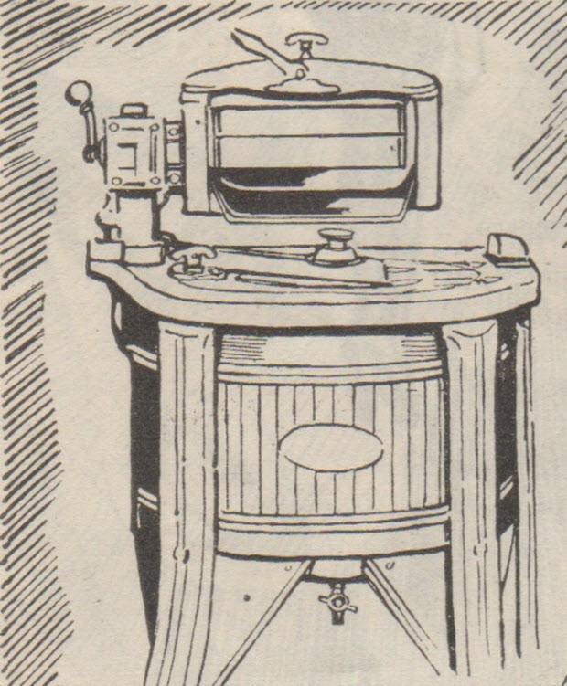Çamaşır makinesi ve merdane