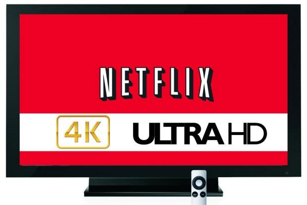 Akmıyor, çağlıyor: Netflix, YouTube, 4K'ya geçiyor