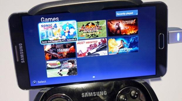 Samsung GamePad'i denedik!