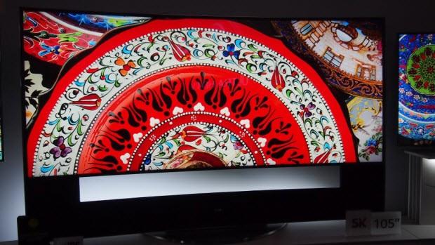 LG'nin kavisli UHD TV'si ön incelemede!