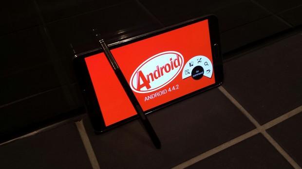 Bir KitKat sızıntısı da Galaxy Note 3 için geldi!