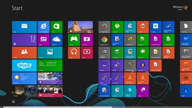 Windows 8 in giriş ekranını varsayılan düzenine geri