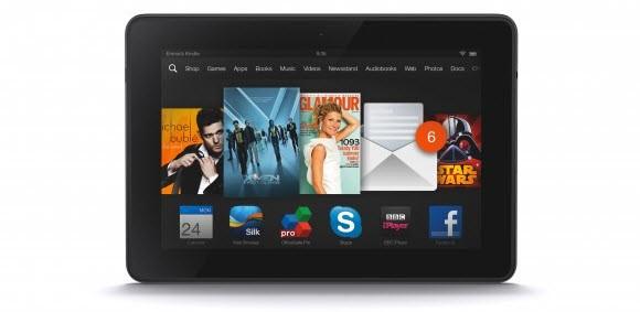 """Amazon Kindle Fire HDX 7"""" ve diğerleri"""