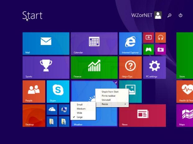 Windows 8.1 Update 1'den yeni sızıntılar!