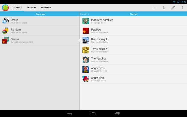 DataSync ile Android eşitleme